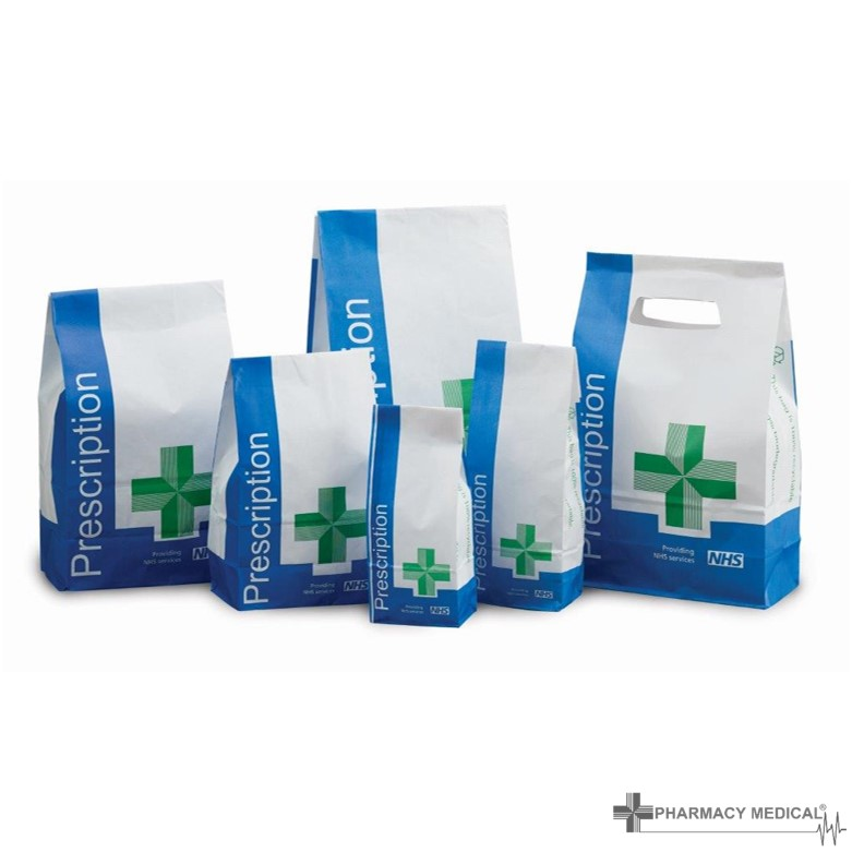 pharmacy equipment prescription bags