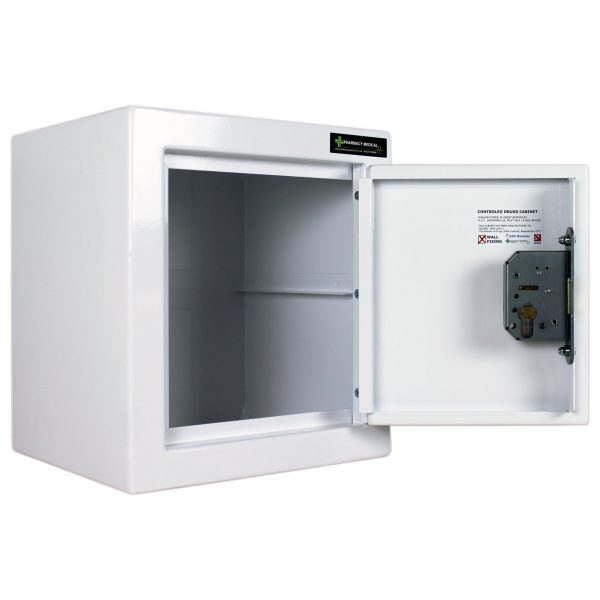 CDC002 Controlled Drugs Cabinet door open no shelf