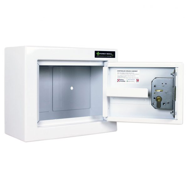CDC100 Controlled Drug Cabinet open