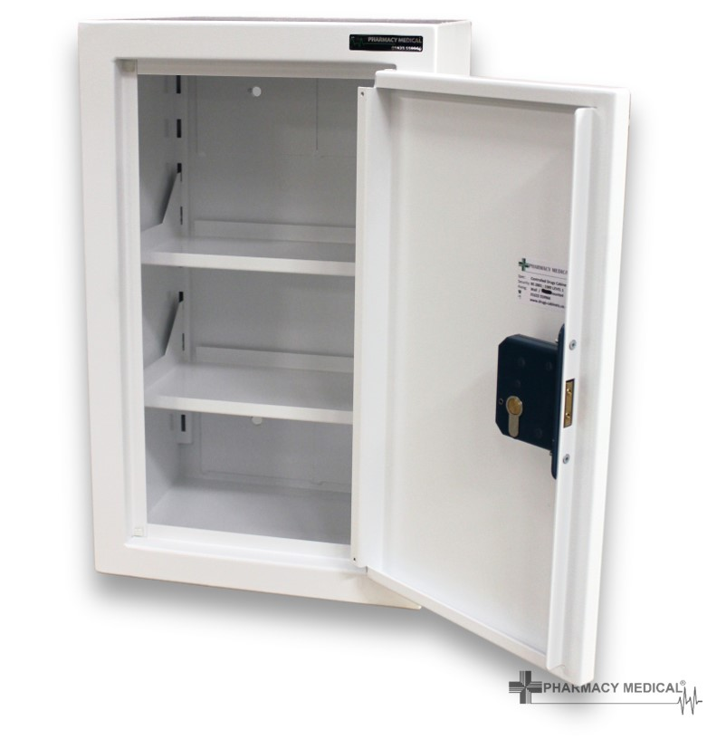 CDC1010 Controlled Drugs Cabinet fully open