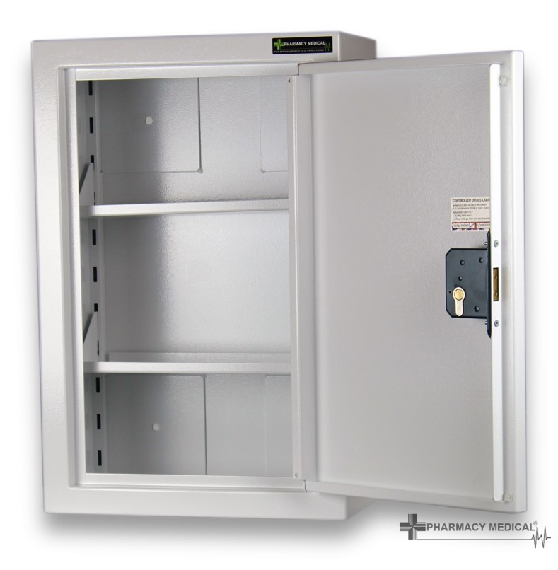 CDC1012 Controlled Drugs Cabinet fully open
