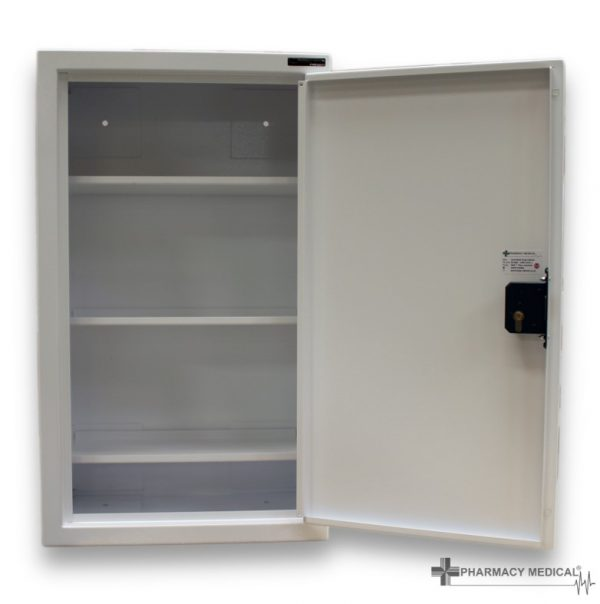 CDC1030 Controlled Drugs Cabinet open fully front view
