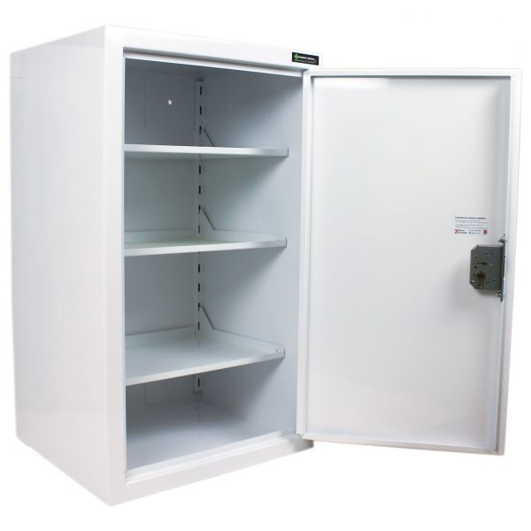 CDC1040 Controlled drugs cabinet open