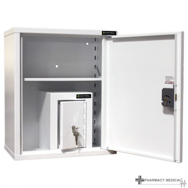 CMED250 Medicine cabinet with internal Controlled Drugs Cabinet