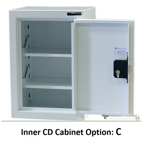 Internal CD Cabinet option C