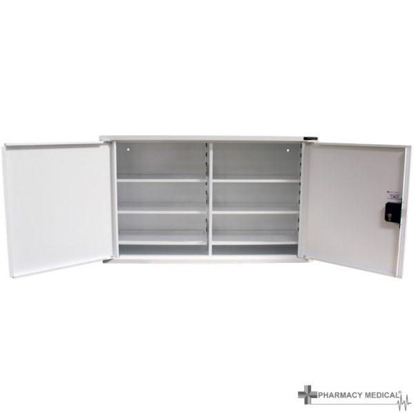 MED403 Double Door Medicine Cabinet open