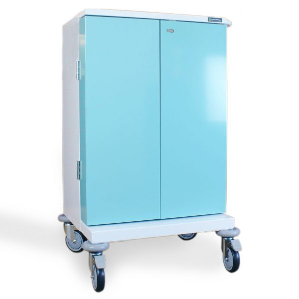 PM220 Medicine Drugs Trolley Closed