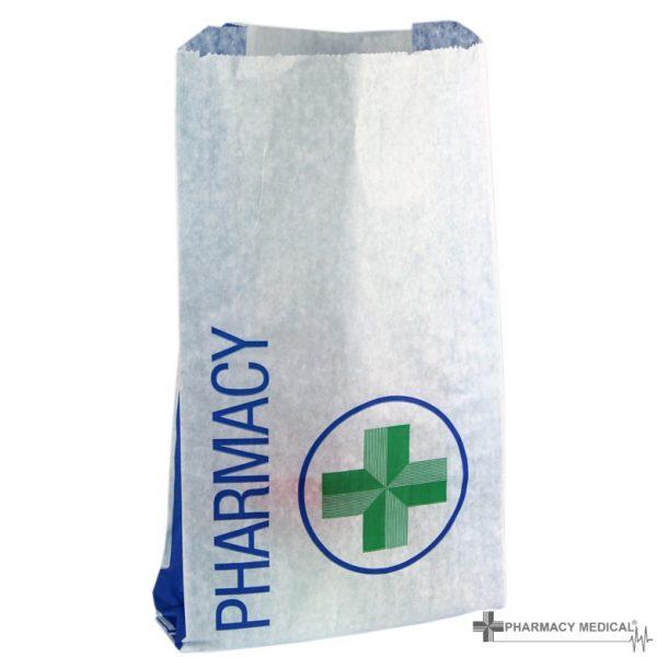 Small pharmacy counter bag