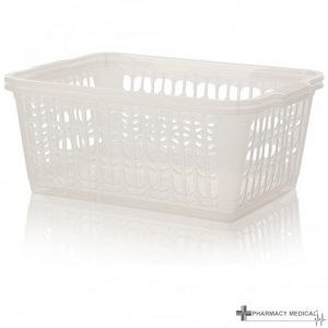 clear dispensing baskets