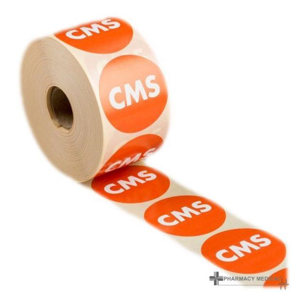 cms prescription alert stickers