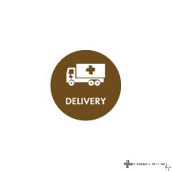 delivery prescription alert sticker