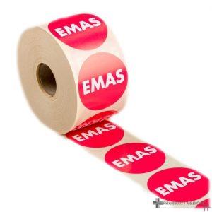 emas prescription alert stickers