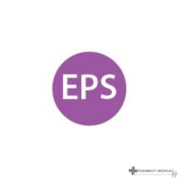 eps prescription alert sticker