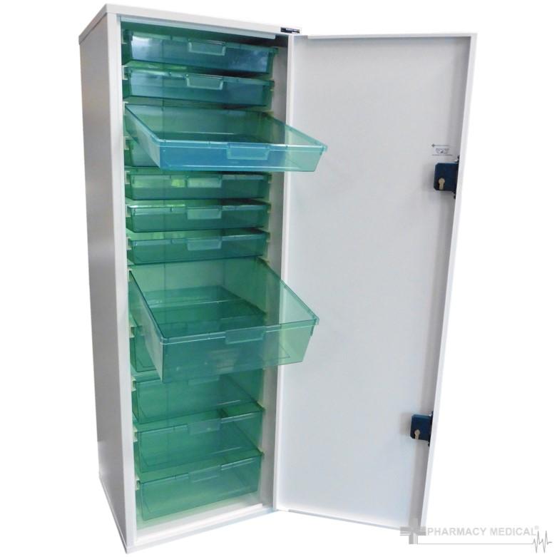 Medicine storage tower unit