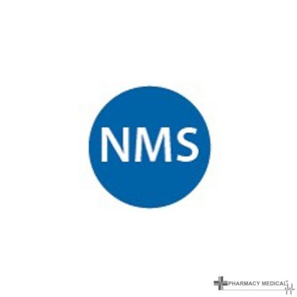 nms prescription alert sticker
