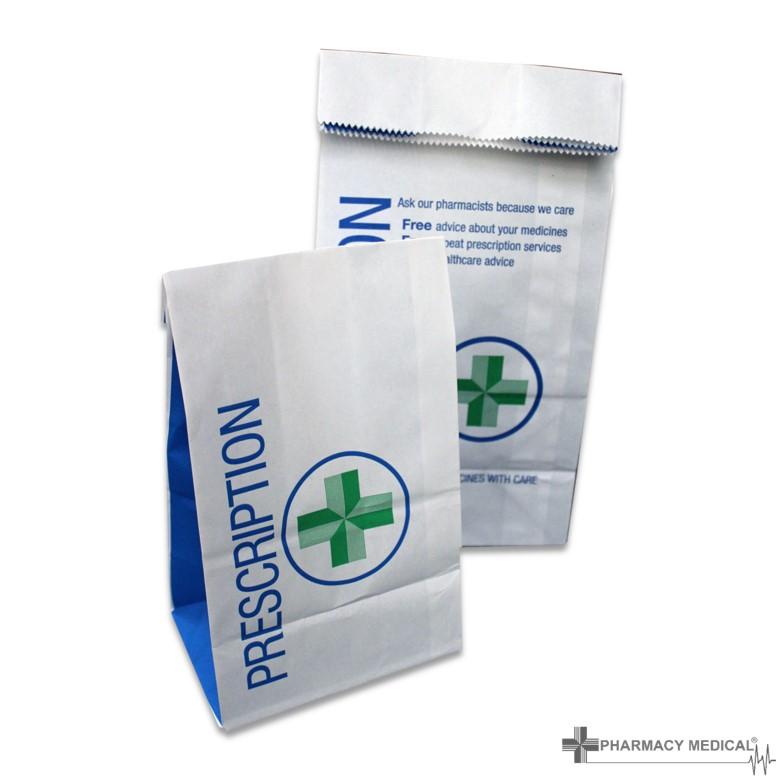 Prescription Counter Bags Branded Prescription Counter Bags