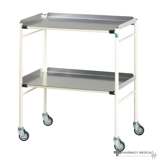mild steel surgical trolley