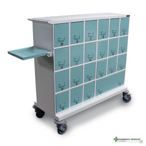 dt1801 ward distribution trolley