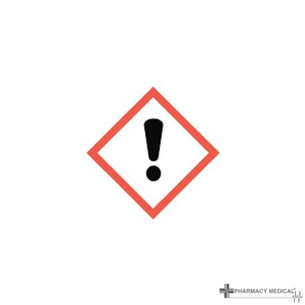 General CoSHH Cabinet warning label