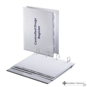 controlled drugs register binder