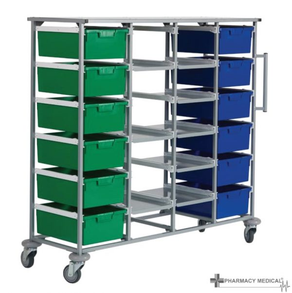 four tier carry cart
