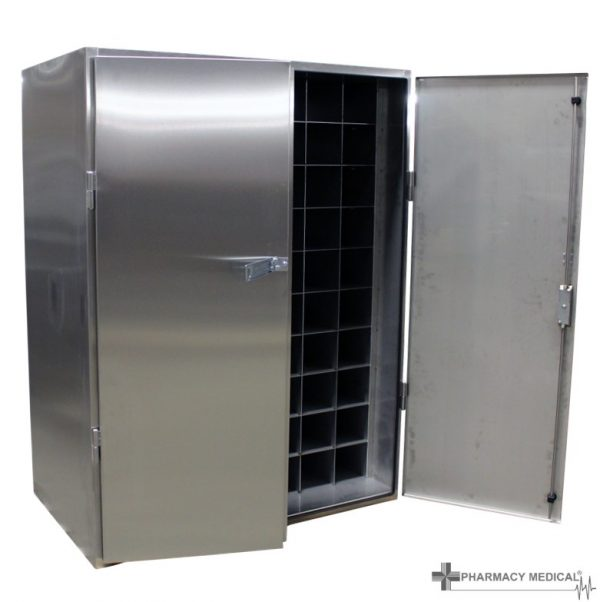 medical gas storage cabinet