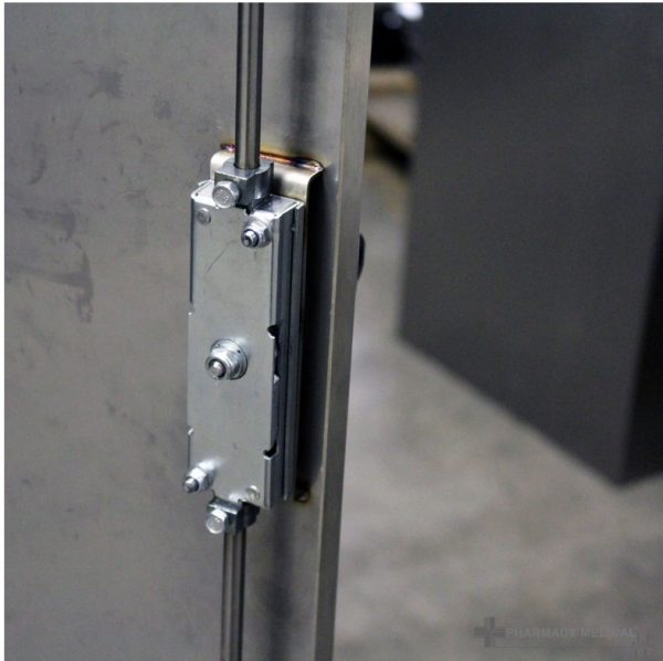stainless steel gas cabinet detail