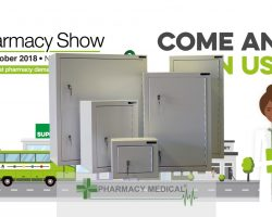 Controlled drugs cabinets Pharmacy Show 2018