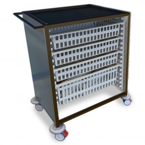 stainless steel single column htm71 trolley