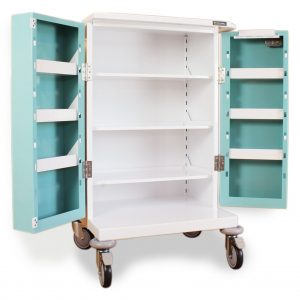 Double Door MDS Drugs Trolleys