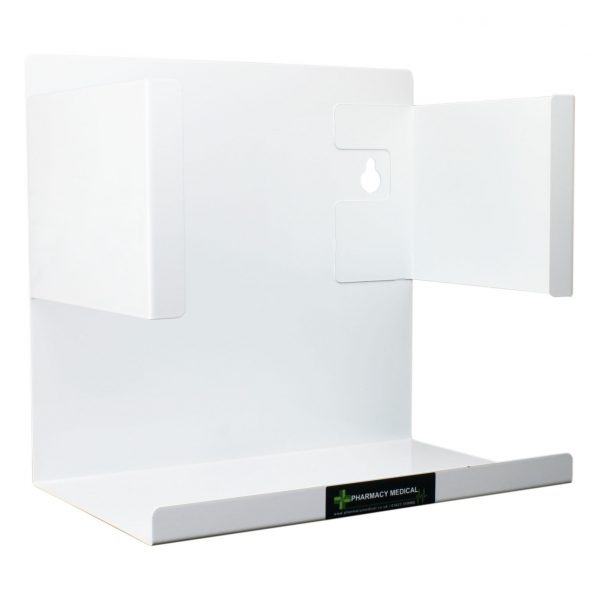 Double box glove box holder